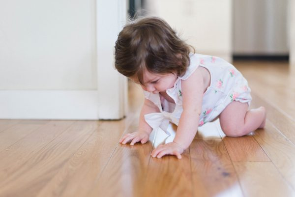child on the floor